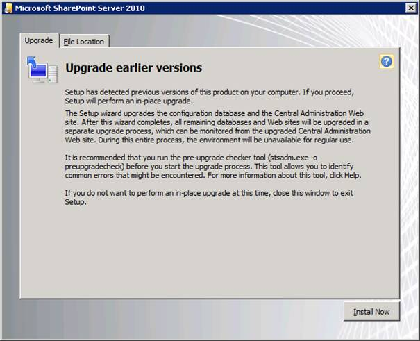 image006 Migrate MOSS 2007 to SharePoint Server 2010.